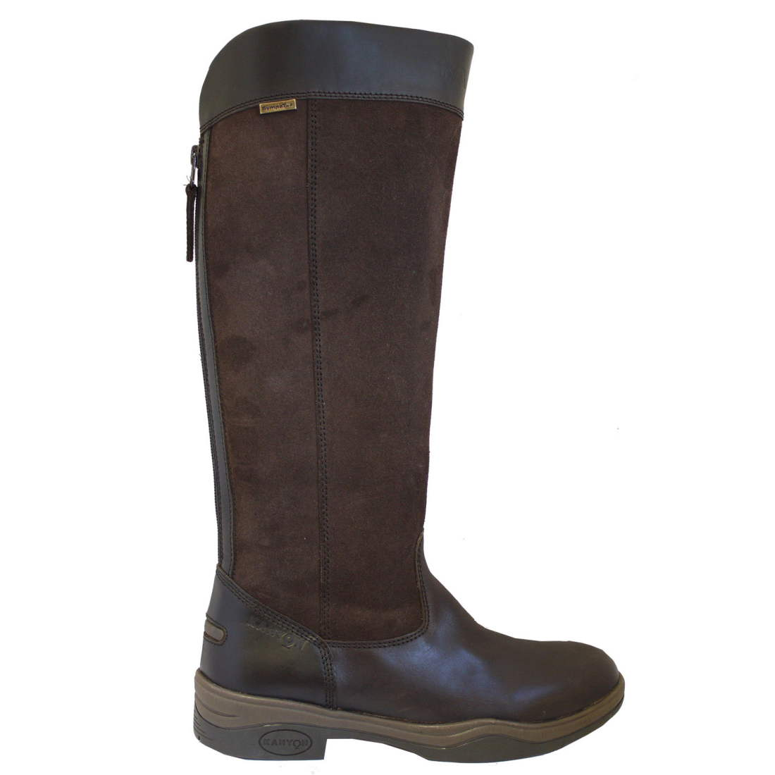 kanyon clydesdale country boot brown review