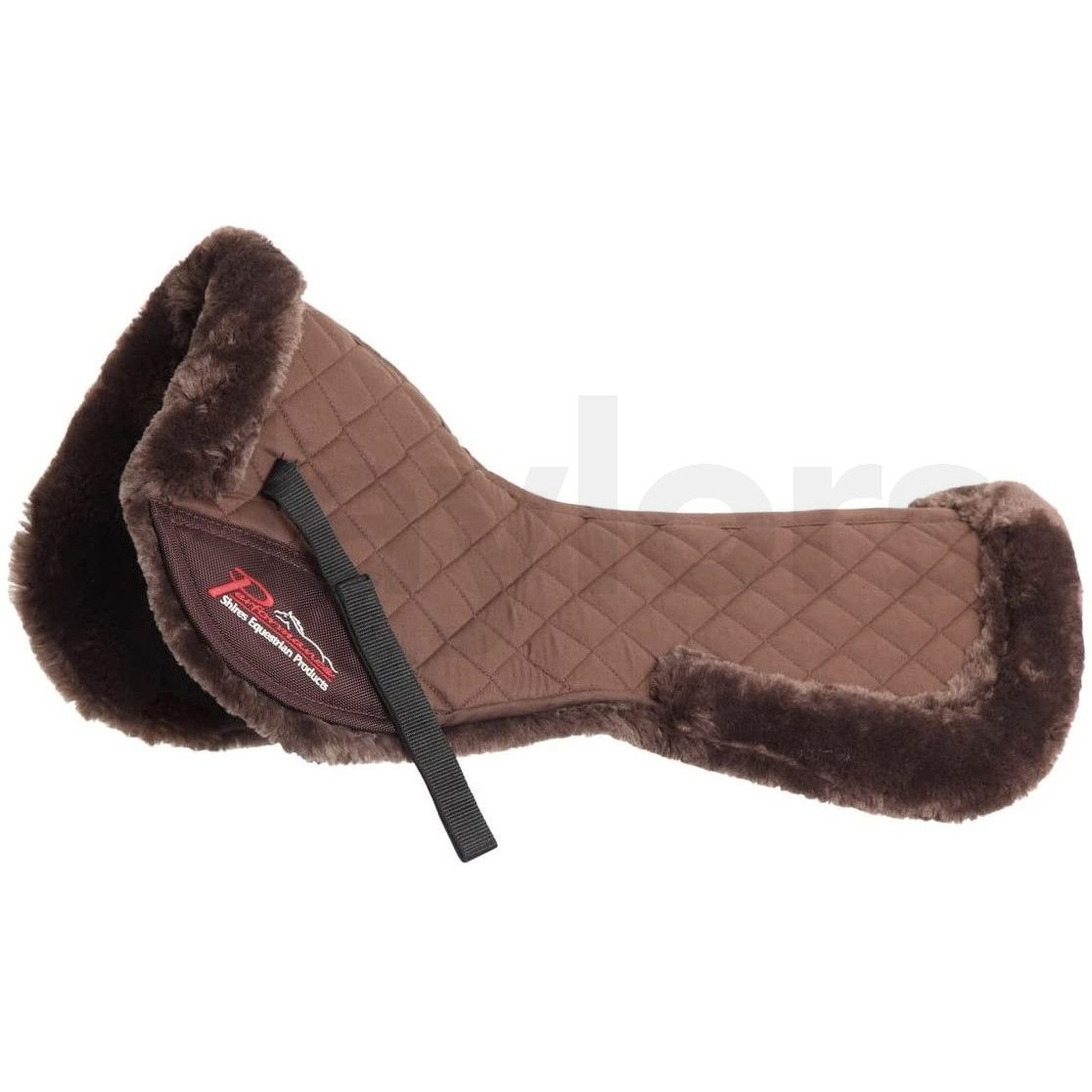 Shires Performance Fully Lined Half Pad Brown