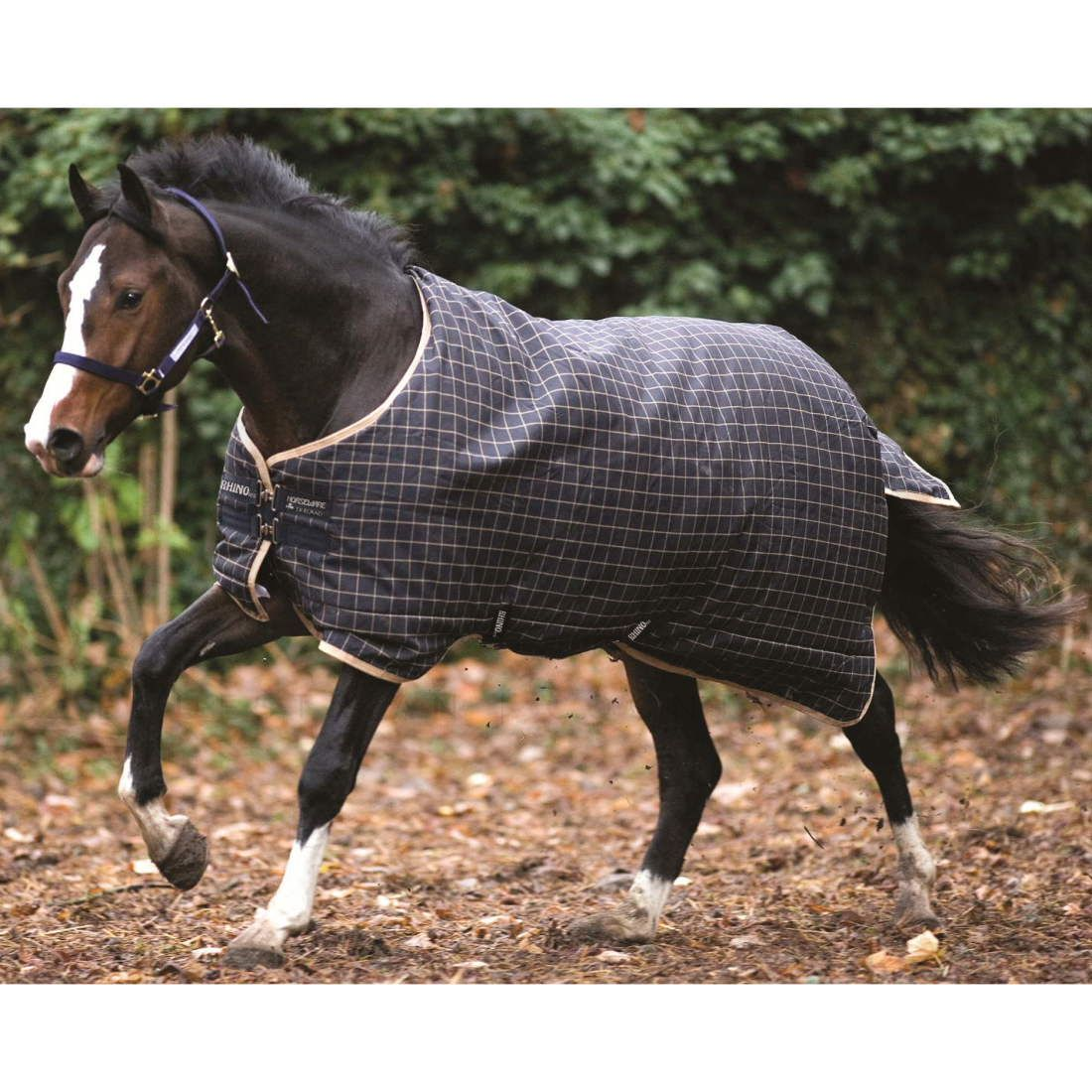 Heavyweight Turnout Rug Navy