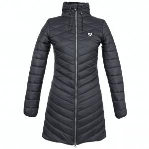 Aubrion Ladies Dillingham Long Quilt Jacket Black