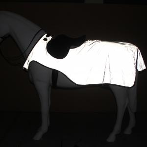 Horseware® Rambo® Reflective Night Rider Rug Silver/Black