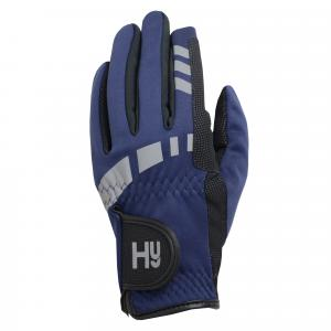 HY5 Childs Extreme Reflective Softshell Gloves Navy