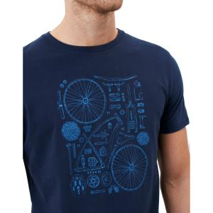 Joules Mens Flynn Tee French Navy