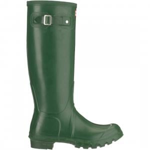 Hunter Ladies Original Tall Wellington Boots Green