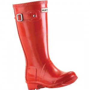 Hunter Kids Original Wellington Boots Red