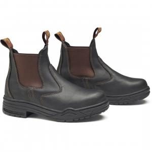 Mountain Horse Mens Protective Jodhpur Boots Brown