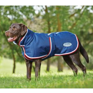 WeatherBeeta Parka 1200D Deluxe Dog Rug Navy/Red/White