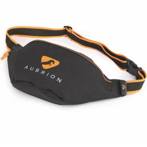 Aubrion Bum Bag Black Orange