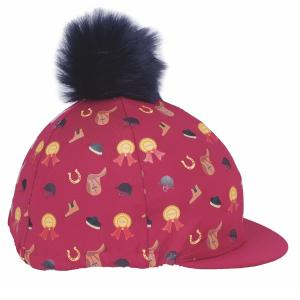 Shires Tikaboo Hat Cover Raspberry