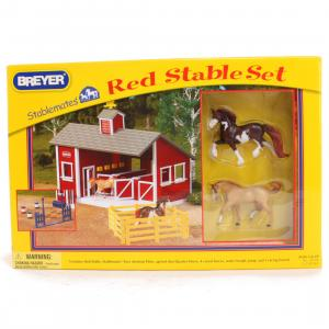 Breyer® Stablemates® Red Stable Set