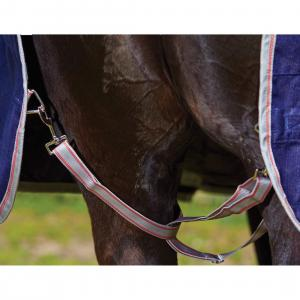 WeatherBeeta ComFiTec Classic 220g Medium Weight Standard Neck Turnout Rug Red/Navy