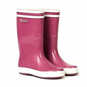 Aigle Kids Lolly Pop Wellington Boots Mure Pink