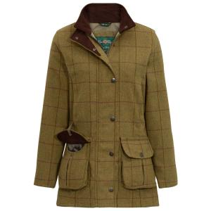 Alan Paine Ladies Rutland Waterproof Coat Lichen