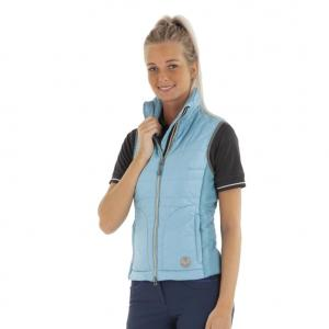 Anky Ladies Lightweight Gilet Mineral Blue