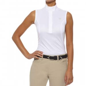 Ariat® Ladies Aptos Sleeveless Show Top White