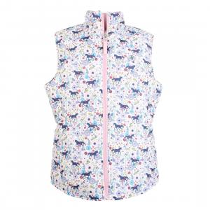 Ariat® Childs Emma Reversible Gilet Garden Pony Print