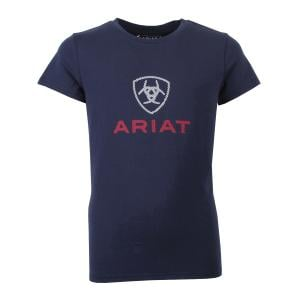 Ariat® Childs HD Logo Tee Navy