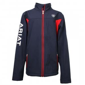 Ariat® Childs Team Softshell Navy