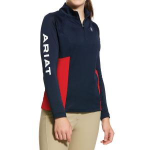 Ariat® Childs Sunstopper 2.0 Baselayer Team Navy