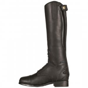 Ariat® Junior Bromont Tall H2O Riding Boots Oiled Black