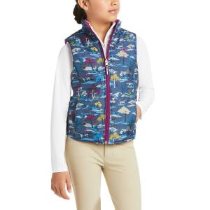 Ariat® Kids Emma Reversible Insulated Vest Multi