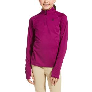 Ariat® Kids Lowell 2.0 1/4 Zip Baselayer Imperial Violet