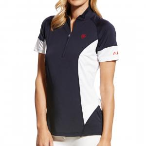Ariat® Ladies Cambria Jersey Polo Navy