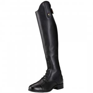 Ariat® Ladies Heritage Contour II Field Zip Riding Boots Black