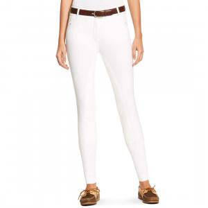 Ariat® Ladies Heritage Elite Full Seat Breeches Long Leg White