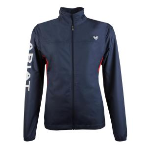 Ariat® Ladies Ideal Windbreaker Jacket Team Navy
