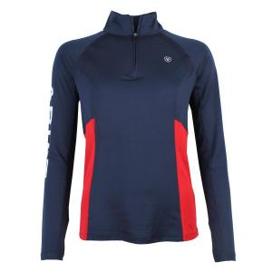 Ariat® Ladies Sunstopper 2.0 Baselayer Team Navy