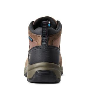 Ariat® Ladies Telluride Composite Toe Work Boots Distressed Brown
