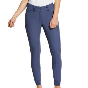 Ariat® Ladies Tri Factor Grip Full Seat Breeches Night Blue