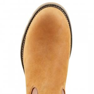 Ariat® Ladies Wexford H2O Chelsea Boots Rustic Brown