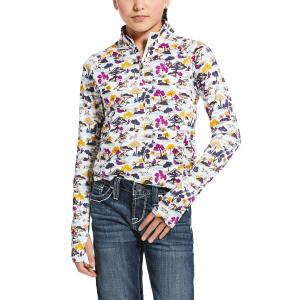 Ariat® Kids Lowell 2.0 1/4 Zip Baselayer Open Country Course