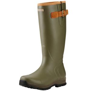 Ariat® Mens Burford Wellington Boots Olive Green