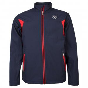 Ariat® Mens New Team Softshell Jacket Navy