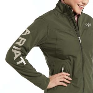 Ariat® Ladies New Team Soft Shell Jacket Prairie
