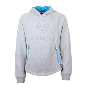 Ariat® Kids 3D Logo Hoody Grey