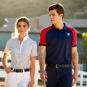 Ariat® Mens Team 3.0 Polo Navy