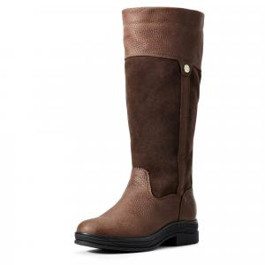 Ariat® Ladies Windermere II H2O Country Boots Dark Brown