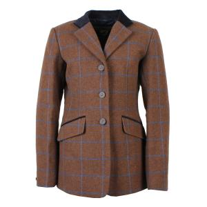 Aubrion Childs Saratoga Tweed Jacket Brown Tweed