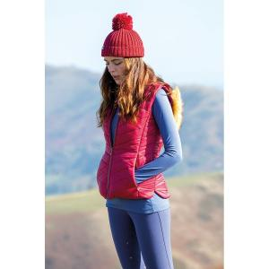 Aubrion Ladies Cinder Gilet Red