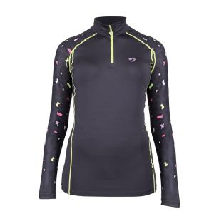 Aubrion Ladies Hyde Park Cross Country Shirt Leopard