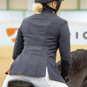 Aubrion Ladies Oaklawn Show Jacket Black