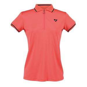 Aubrion Ladies Parsons Tech Polo Coral