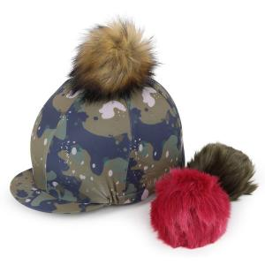 Aubrion Switch It Pom Hat Cover Camo