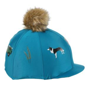 Aubrion Tikaboo Pom Hat Cover Farmyard