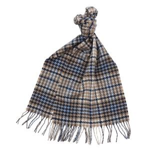 Barbour Barmack Houndstooth Tartan Scarf Tempest Trench Tartan