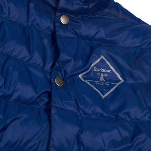 Barbour Boys Sergeant Quilted Jacket Regal Blue
